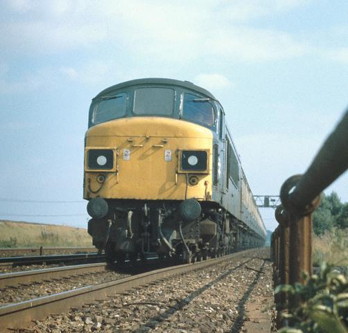 25/08/79:- 45060 on a northbound express approaching Loughborough